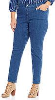 MICHAEL Michael Kors Antique Wash Stretch Denim Skinny Jeans