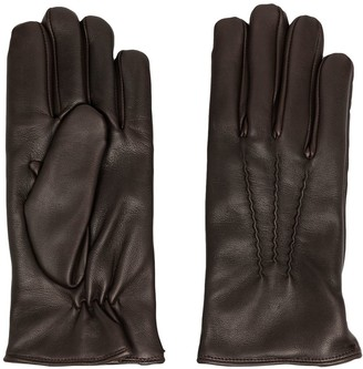 Orciani Panelled Gloves