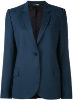 Paul Smith one button blazer - women - Acetate/Viscose/Wool - 42