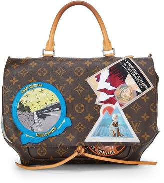 Louis Vuitton Cindy Sherman x Iconoclasts Collection Monogram Canvas Messenger