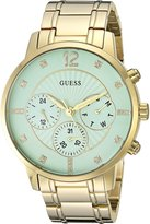 GUESS GUESS? Women's Quartz Stainless Steel Casual Watch, Color:Gold-Toned (Model: U0941L6)