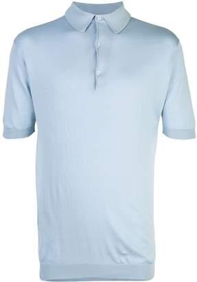 John Smedley classic slim-fit polo shirt