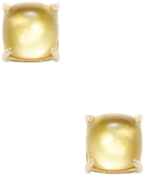 Roberto Coin Shanghai 18K Yellow Gold, Citrine & Mother of Pearl Circle Stud Earrings