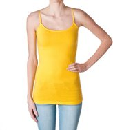 Hollywood Star Fashion Plain Long Spaghetti Strap Tank Top Camis Basic Camisole Cotton