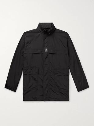 Balenciaga Oversized Logo-Appliqued Shell Jacket