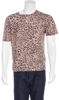 Dries Van Noten Leopard Print T-Shirt