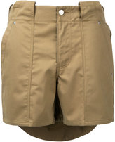soe layered shorts - men - Cotton - 1