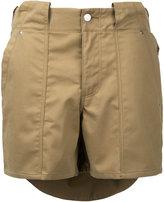 soe layered shorts - men - Cotton - 1
