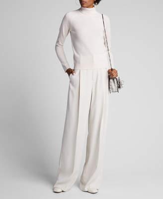 Majestic Cashmere Long-Sleeve Turtleneck Sweater