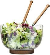Sagaform Salad Bowl & Oak Trivet