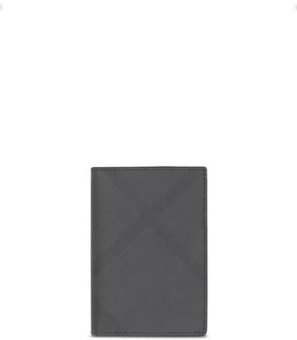 Burberry London Check folding card case