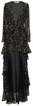 ATTICO Star High-Low Dress
