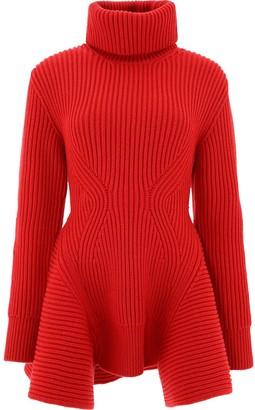 Alexander McQueen Knitted Maxi Pullover