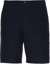 Oliver Spencer Cotton-blend bouclé shorts