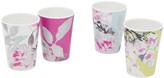 Joules Beau Floral Beakers - Set of 4 - Multi Floral