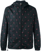 Gucci bee and star print jacket - men - Polyamide/Polyester - 48