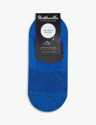 Pantherella Seville invisible cotton-blend socks