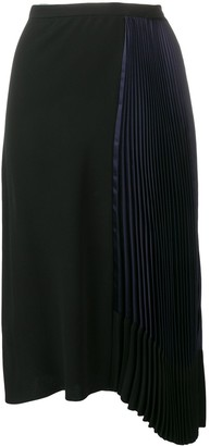 Marni Pleated Draped Skirt