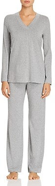 Hanro Champagne Long Sleeve Pajama Set