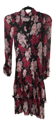 The Kooples Spring Summer 2019 Burgundy Polyester Dresses