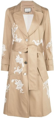 Alexis Floral Embroidered Coat