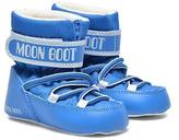 Moon Boot Kids's Crib Velcro Boots In Blue - UK 1.5 Infant / EU17 - 18