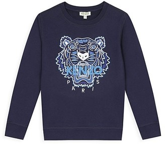 Kenzo Little Boy's & Boy's Tiger Logo Sweatshirt