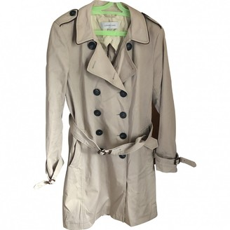 Gerard Darel Beige Cotton Trench Coat for Women