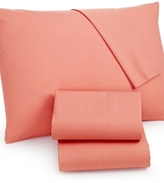 Martha Stewart CLOSEOUT! Whim by Collection California King 4-pc Sheet Set, 100% Cotton Percale
