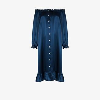 Sleeper Silk Loungewear Dress