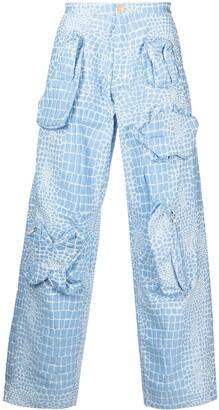 Walter Van Beirendonck Pre-Owned Gun trousers