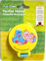 Sesame Street Pacifier Holder (Elmo and Cookie Monster)