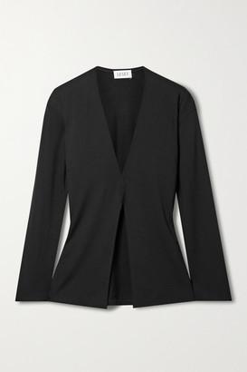 Leset Kaia Stretch-jersey Top - Black
