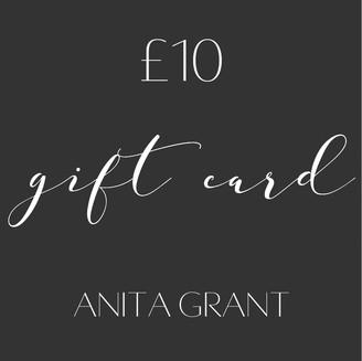 Anita Grant Gift Card