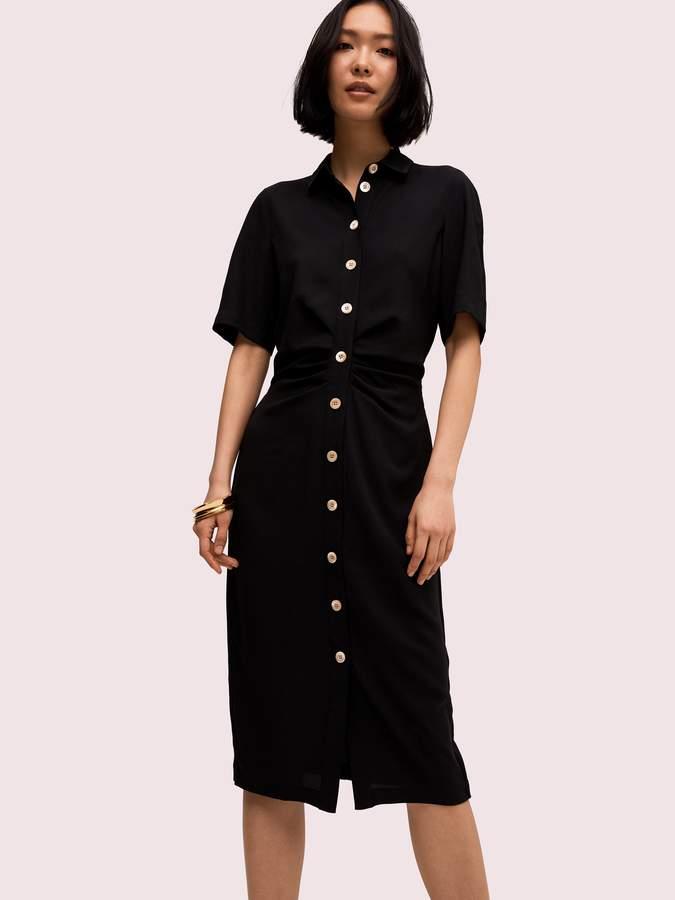 Kate Spade button front shirtdress