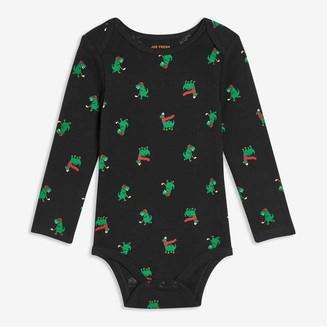 Joe Fresh Baby Boys' Print Bodysuit, JF Black (Size 12-18)