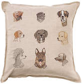 Coral & Tusk Dog 16x16 Pillow - Natural