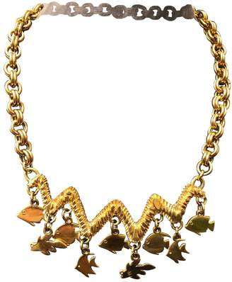 Guy Laroche Gold Metal Necklaces