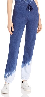Andrew Marc Side Burst Tie Dyed Jogging Pants