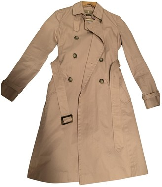 Massimo Dutti Cotton Trench Coat for Women