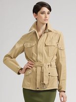 Brayden Belted Safari Jacket