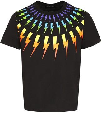 Neil Barrett Printed Short Sleeve T-shirt