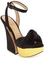 Charlotte Olympia 'Vreeland' Platform Sandal (Women)