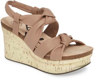 OTBT Far Side Knotted Wedge Sandal