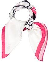 Christian Dior Silk Printed Scarf w/ Tags