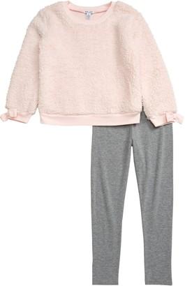 Splendid Fleece Sweatshirt & Leggings Set