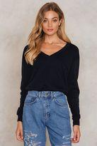 V-neck Basic Sweater