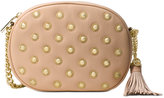 MICHAEL Michael Kors Ginny Studded Medium Messenger