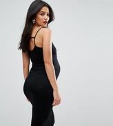 Asos Strappy Back Midi Bodycon Dress