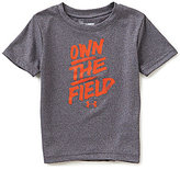 Under Armour Little Boys 2T-7 Own The Field Short-Sleeve Tee